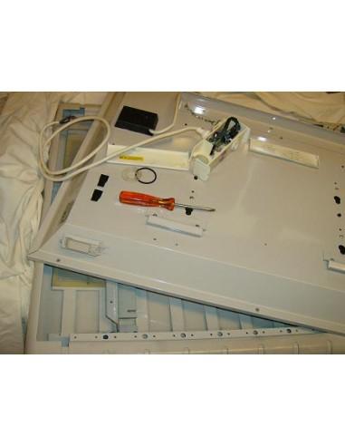 Réparation de radiateur en atelier